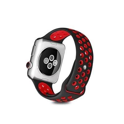 【Rainbow 3c】Apple Watch 硅膠運動撞色錶帶/手錶錶帶4/5/6適用