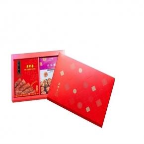 【美珍香】香頌禮盒 (真空豬肉乾200g+盒裝小鬆脆72g)