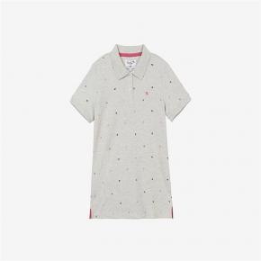【Arnold Palmer】小雨傘LOGO滿版印花POLO衫