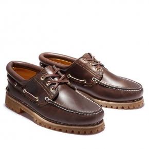 【TIMBERLAND】男款深棕經典三孔雷根鞋 30003214