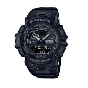 【翡仕】CASIO G-SHOCK智慧藍芽訓練運動錶(黑)