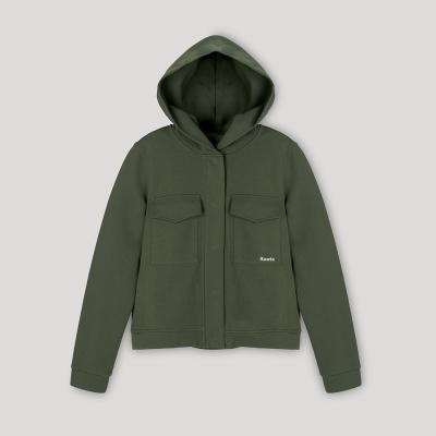【Roots】女裝- 環保有機棉系列 V領短袖T恤