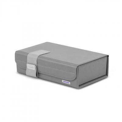 【Apple授權經銷商】Moshi Deep Purple 隨身折疊式360°無死角紫外線殺菌消毒盒