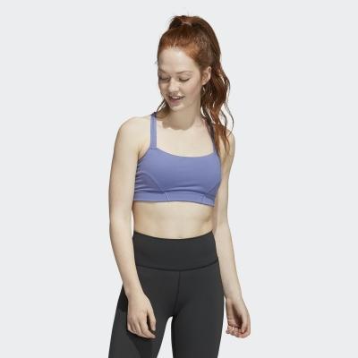 【adidas】女 專業運動訓練 運動內衣(紫) H56331