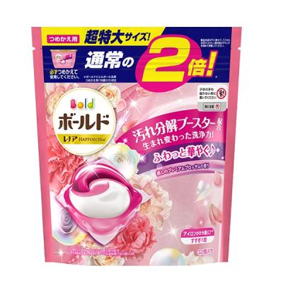 【日藥本舖】P&G_Bold新3衣物柔軟3D洗衣膠球花香32P補