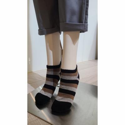 【祝涮嘴伴手禮】 PULO條紋氣墊裸襪 (26-30cm 男著)