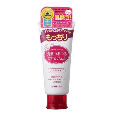 【日藥本舖】ROSETTE 果酸滋潤型去角質洗顏凝膠-120g