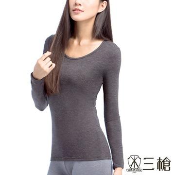 三槍牌 Q-HEAT女超彈性長袖發熱衣2件組(M-XL)