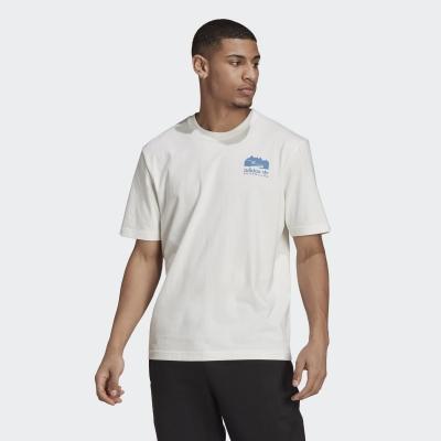 【adidas】ADIDAS 男 FLMOUNT TEE 短袖上衣 (白) - H13913