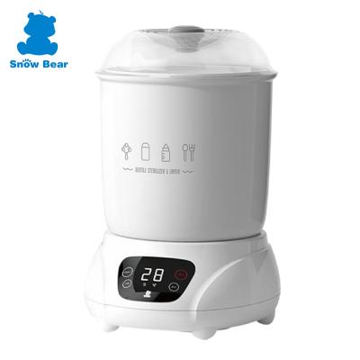【甜蜜家族】Snow Bear 韓國小白熊智效奶瓶消毒烘乾鍋
