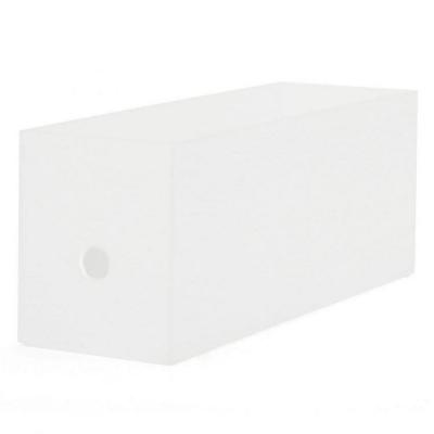 【MUJI無印良品】聚丙烯檔案盒1/2(2色)
