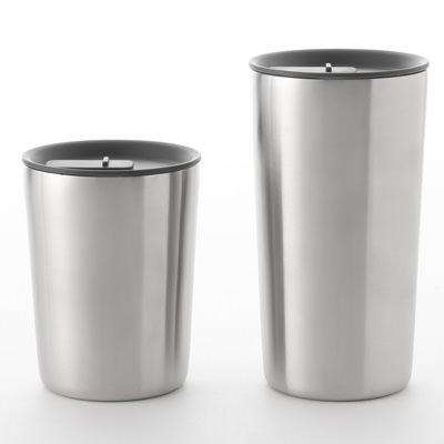 【MUJI 無印良品】無把手不鏽鋼保溫杯