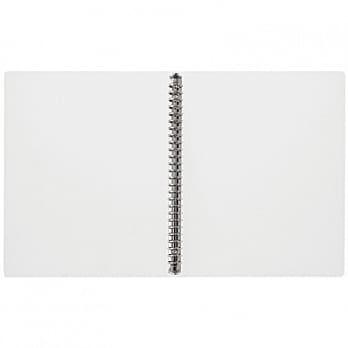 【MUJI 無印良品】聚丙烯檔案夾/B5.26孔(R)