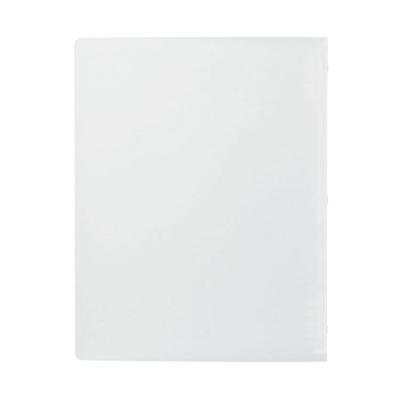 【MUJI 無印良品】聚丙烯可單手開闔檔案夾/B5.8孔