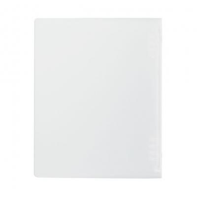 【MUJI 無印良品】聚丙烯可單手開闔檔案夾/A5.8孔