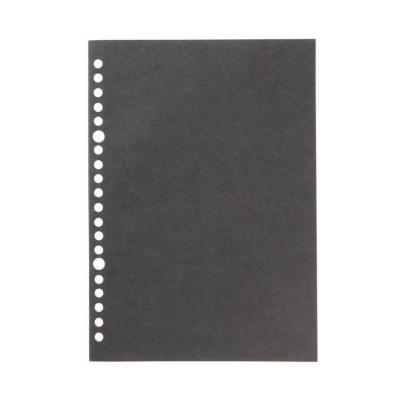 【MUJI 無印良品】書型可撕活頁紙(6mm橫線) 3入