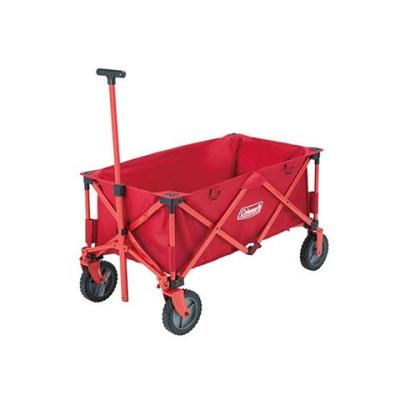 【早點名露營生活館】Coleman-四輪拖車 正紅 CM-21989