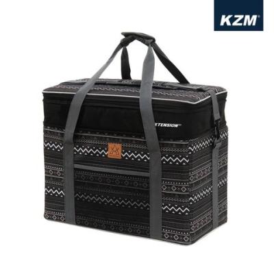 【早點名露營生活館】KZM 彩繪民族風裝備收納袋55L