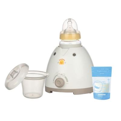 【黃色小鴨】多功能三合一溫奶器 送3D立體母乳儲存袋150ml