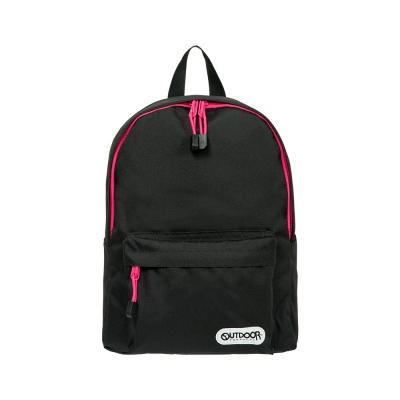 【BTU】OUTDOOR 玩色系列-後背包-黑/粉色 OD101128BKP