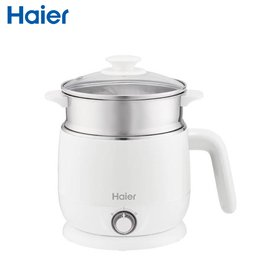 【Haier 海爾】雙層防燙多功能智能美食鍋-牛奶白HB-K039MW
