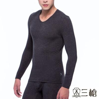 【三槍牌】Q-HEAT超彈性男生發熱衣 2件組(黑、灰、藍、鳶尾藍-顏色隨機出貨)