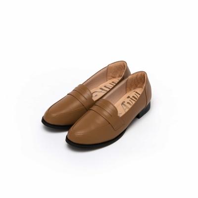 【Avivi】芯柔感受-經典簡約素面樂福鞋